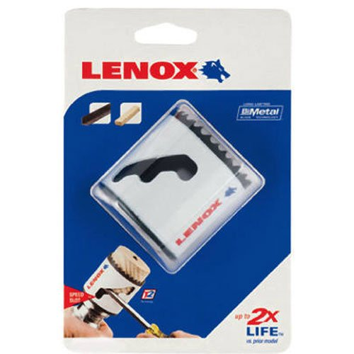 - LENOX Tools Bi-Metal Speed Slot Hole Saw with T3 Technology, 1-1/2