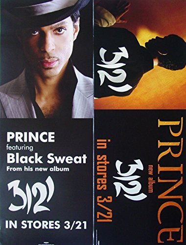 Prince - 3121 - Two Sided Poster - Rare - New - Te Amo
