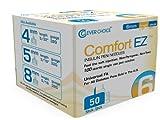 Clever Choice ComfortEZ Insulin Pen Needles 50/bx (32G 6mm 1/4'' 50 Count)