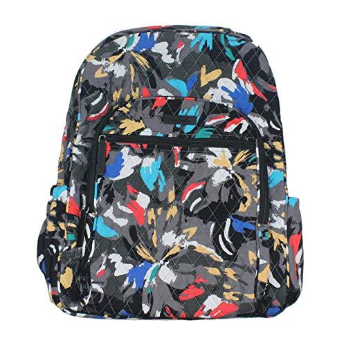 Vera Bradley Splash Floral Campus Backpack