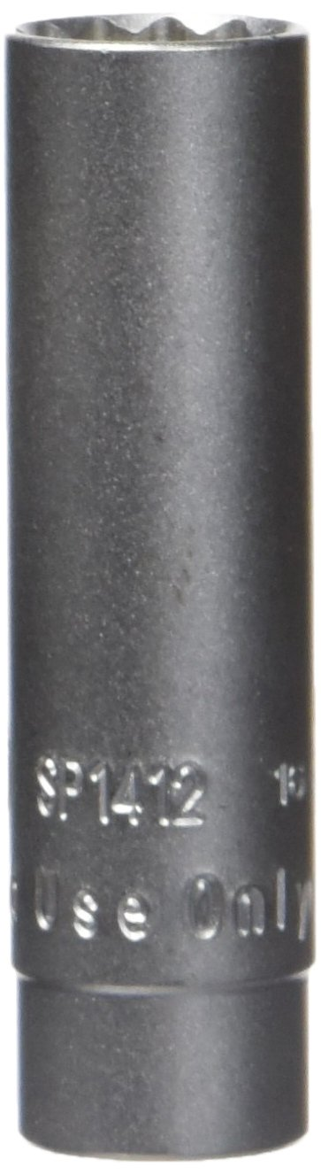 Assenmacher Specialty Tools SP1412 14mm, 12-Point Thin Walled Spark Plug Socket