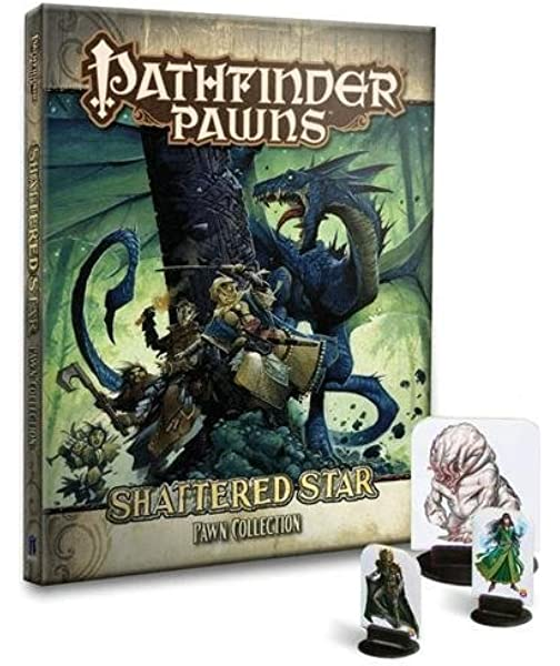 Pathfinder Roleplaying Game: Shattered Star Adventure Path Pawn Collection: Amazon.es: Jacobs, James, Staff, Paizo: Libros en idiomas extranjeros