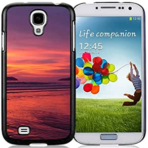 New Beautiful Custom Designed Cover Case For Samsung Galaxy S4 I9500 i337 M919 i545 r970 l720 With Nature Sunset Beach Landscape Phone Case