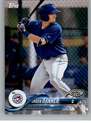 (2018 Topps Pro Debut Minor League Baseball Trading Card #105 Hagen Danner GCL Blue)