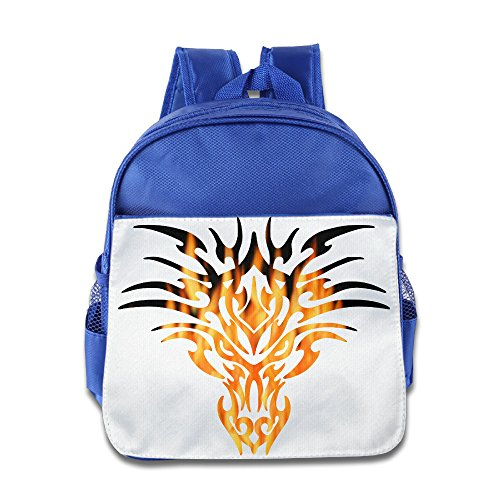 [JXMD Custom Funny Fire Animal Kids Children School Bagpack For 1-6 Years Old RoyalBlue] (Bandit Child Costumes)