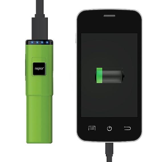 ccf378cb444 Neptor cargador de batería portátil 2800mAh 1.0A para iPhone 5S, 5C, iPad  mini, Samsung Galaxy ...