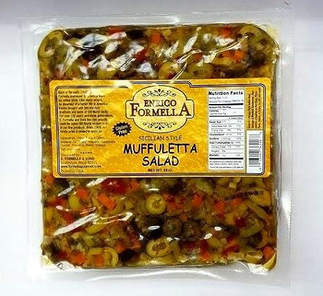 Enrico Formella Muffuletta Pouch 56oz.: Amazon.com: Grocery ...
