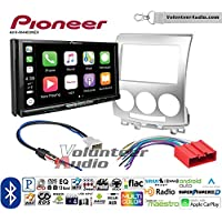 Volunteer Audio Pioneer AVH-W4400NEX Double Din Radio Install Kit with Wireless Apple CarPlay, Android Auto, Bluetooth Fits 2006 Mazda 5