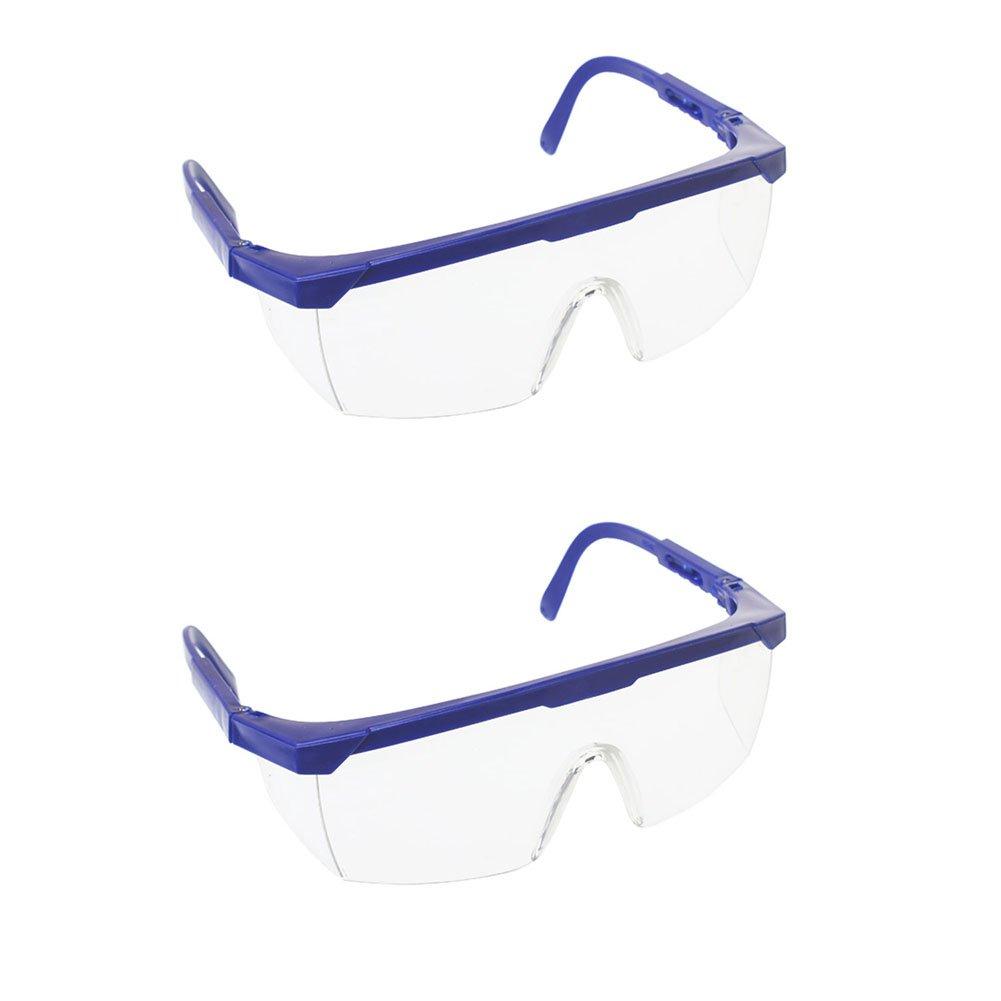 2 x milopon Gafas protectoras Gafas de seguridad para reparaciones, recubrimiento antiarañ azos y antivaho uv380 Protecció n recubrimiento antiarañazos y antivaho uv380Protección