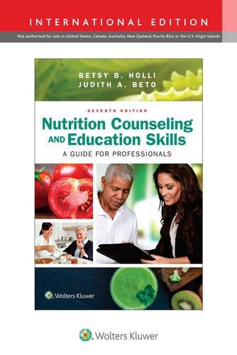Nutrition Counseling and Education Skills: A Guide for Professionals