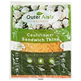 Outer Aisle Gourmet - (24 pieces) Cauliflower Sandwich Thins - Low...