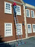5.12m- 2 Section Extension Ladder / Ladders with Integral Stabiliser