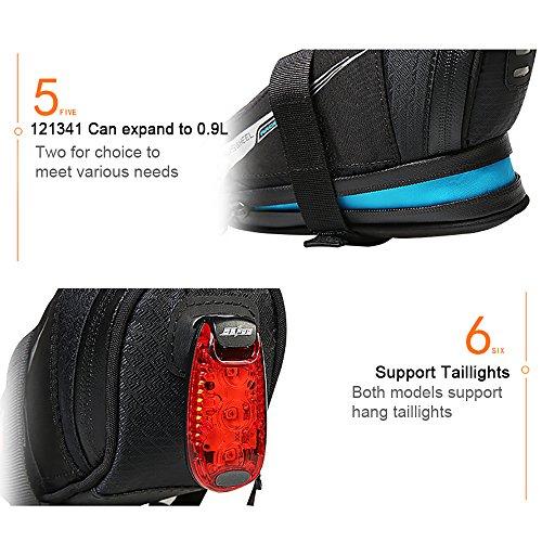 Roswheel Professional Road Bike Bag Bike Saddle Bag Bicycle Seat Storage Bags by Roswheel (Image #7)