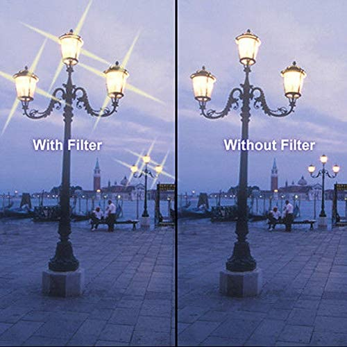 Market/&YCY 3 Piece Set Ultra fine Star Effect Filter 4 8 Points Adjustable Star Filter Starburst Cross Star Filter 49mm 6