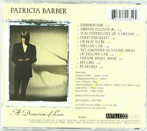 Patricia barber distortion of love amazon music stopboris Gallery