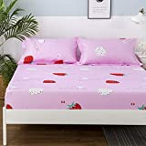 What Are the Measurements of a California King Size Mattress Wall of Dragon Flamingos Printed Mattress Pad Cover Bed Elastic Dust Mite Mattress Cover Protector Machine Washable Breathable Double Bed Sheet