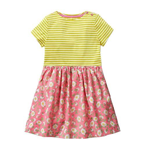 Kidskingdom - Falda - para niña Sunflower Dress 2-3 Años: Amazon ...