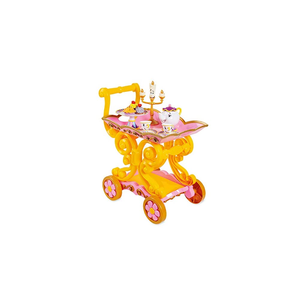 Beauty and the Beast ''Be Our Guest'' Singing Tea Cart Play Set Top 10 Disney Toys July 2020