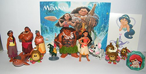 Disney Moana Movie Deluxe Party Favors Goody Bag Fillers Set