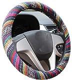 Istn 2016 Ethnic Style Coarse Flax Cloth Automotive Steering...