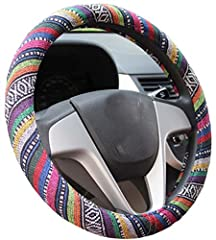 "steering wheel covers fit middle size steering wheels with outer diameter of 14.5""to 15"".  Suitable for:Toyota(except Toyota Prius),Audi, BMW(except Mini),Buick(except GL8 old Regal), Cheetah, Chevrolet(except Chevrolet Silverado Chevrolet tr..."