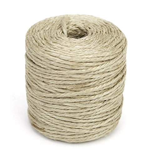 Kel-Toy Jute Rope 3 Ply Spool, 75-Yard, Natural