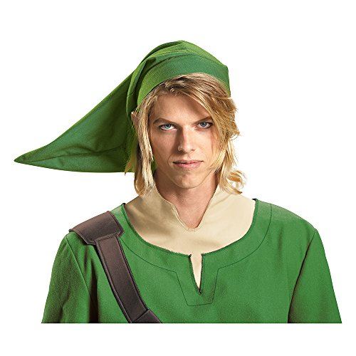 Disguise Men's Link Adult Costume Hat, Green, One Size]()