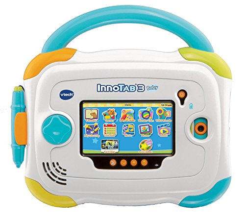 VTech InnoTab 3 Baby Kids Learning Tablet, 4.3-Inch Color Touchscreen, and 2GB Memory, 80147900, Blue (Certified (Vtech Computer Memory)