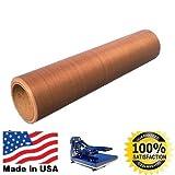 Teflon Roll - 20'' x 18 yards 54 FT PTFE FILM .003 x20''x54 FT SHEET HEAT PRESS