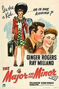 The Major and the Minor Poster Movie 27 x 40 Inches - 69cm x 102cm Eleanor Powell Red Skelton Bert Lahr Virginia O'Brien William Post Jr. James Cross Eddie Hartman