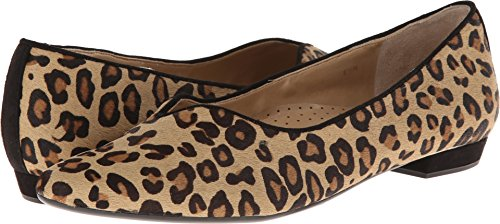 VANELi Women's Ganet Camel Dino Hair Calf/Black Suede 8 S US