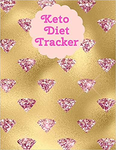 Keto Diet Tracker: Macro & Meal Tracking Log Ketogenic Diet Diary For Women (Weight Loss Aid & Exercise Planner Journal)