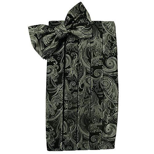 (Men's Tapestry Cummerbund & Bow Tie Set - Many Colors (Sage))