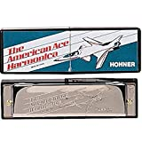 2015 Hohner American Ace Harp Key Of C Harmonica Fee Mini Harmonica