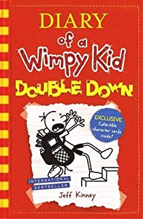 Diary of a wimpy kid jeff kinney amazon office products double down diary of a wimpy kid book solutioingenieria Image collections