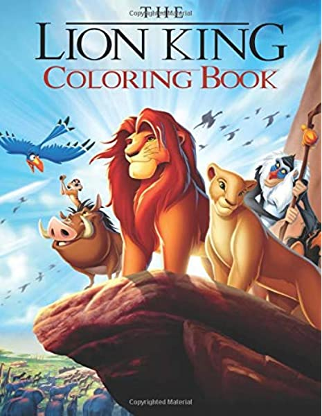 - Lion King Coloring Book: Great Coloring Book For Kids And Adults: Studio,  Funny Colors: 9798665342405: Amazon.com: Books