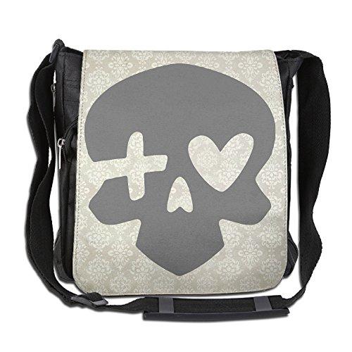 (Memoy Unisex Leisure Messenger Bag McCree Skull Work Travel Bag)