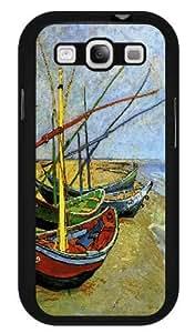 Fishing boats on the beach at Saintes-Maries (van Gogh) - Case for Samsung Galaxy S3 SIII Kimberly Kurzendoerfer