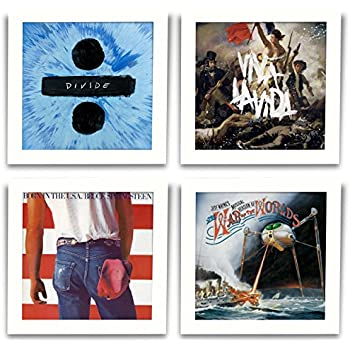 Amazon.com - Play & Display Vinyl Record Display Frame, Displays ...