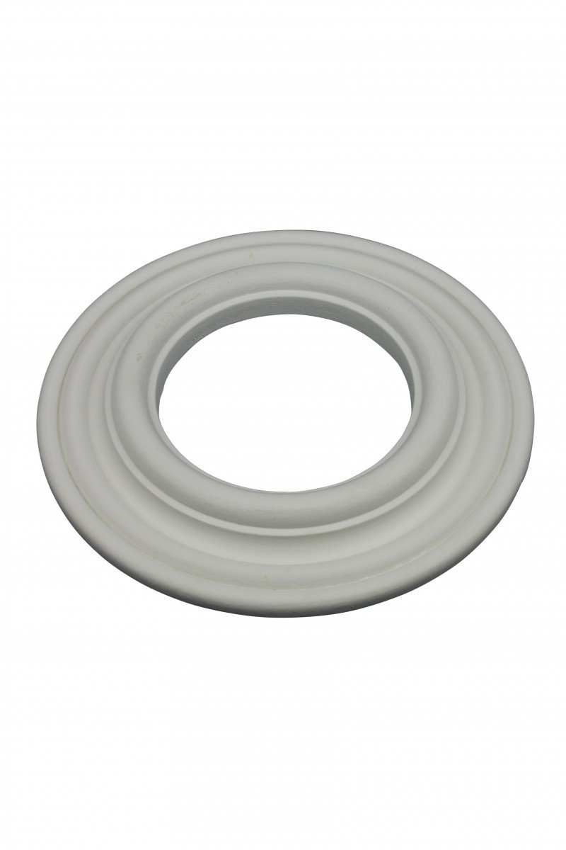 Recessed Spot Light Trim White Urethane Durable Foam 4'' ID