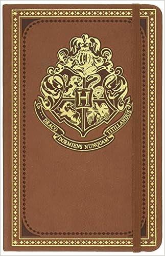 Amazon.com: Harry Potter Hogwarts Hardcover Ruled Journal ...