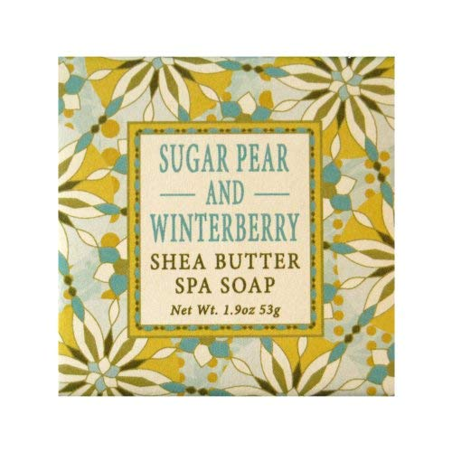 French Milled Soap Favors (Set of 12) (Sugar Pear & Winterberry)