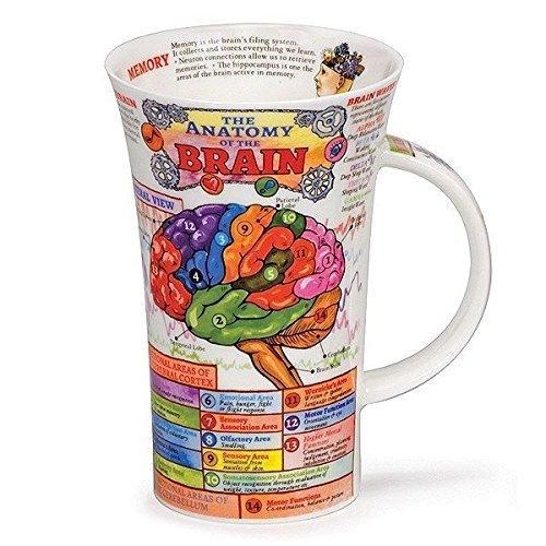 Dunoon Lovely The Brain Fine Bone China Mug Glencoe Style