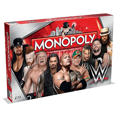 Winning Moves Games WWE Monopoly Board Game by Winning Moves Games