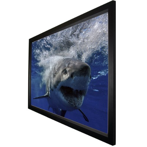 """Mustang SC-F106CW169 106"""" Cinema Fixed Frame, White"""