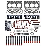 New CHG0040HBSI Cylinder Head Gasket Set, RTV Gasket Silicone, & Head Bolt Kit for GM 3.8L 3800 231 2nd Design VIN 2 K (Won't fit Supercharged models)