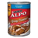 Purina Alpo Gravy Cravers With Beef In Gravy Adult Wet Dog Food – (12) 13.2 Oz. Cans For Sale