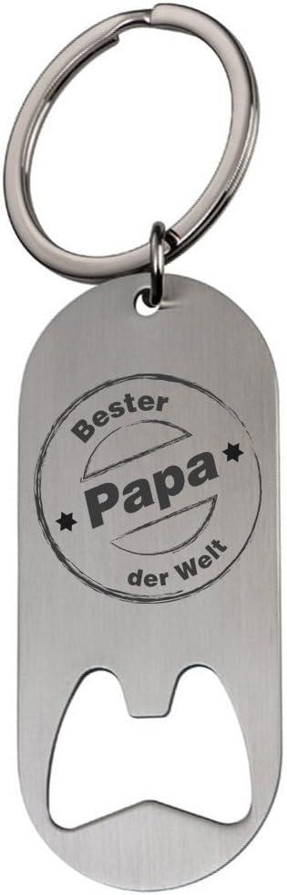 Schlüsselanhänger Flaschenöffner Mit Gravur Bester Papa Der Welt 2 Geschenk Geschenkidee Vater Weihnachten Vatertag Baumarkt