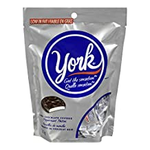 YORK Dark Chocolate Peppemint Patties, Christmas Candy Miniatures, Stocking Stuffer, 200 Gram