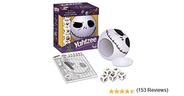 Yahtzee: Tim Burtons the Nightmare Before Christmas Travel Edition: Yahtzee: Tim Burtons the Nightmare Before Christmas Travel Edition: Amazon.es: Libros en idiomas extranjeros